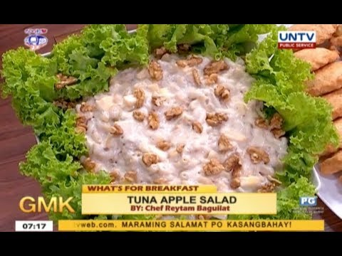 Tuna Apple Salad | What's For Breakfast