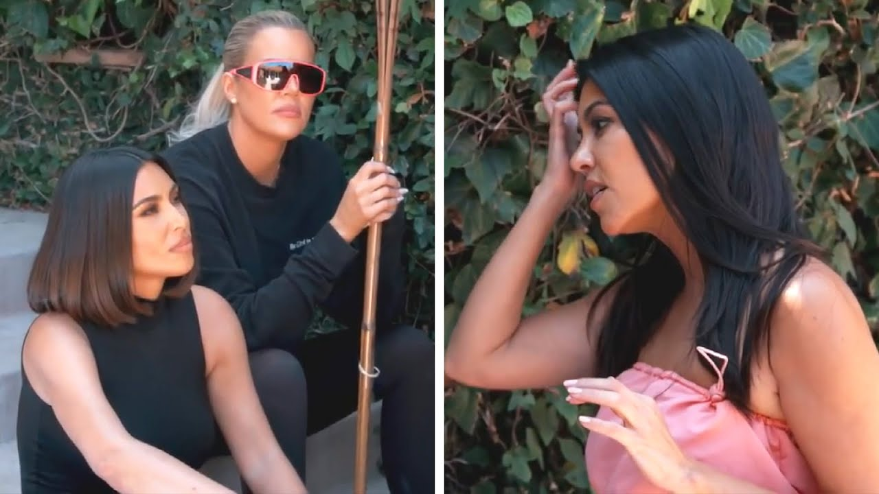 The Kardashian Sisters confrontation