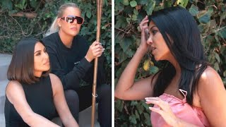 Kim and Khloe Kardashian CONFRONT Kourtney About Not Filming KUWTK