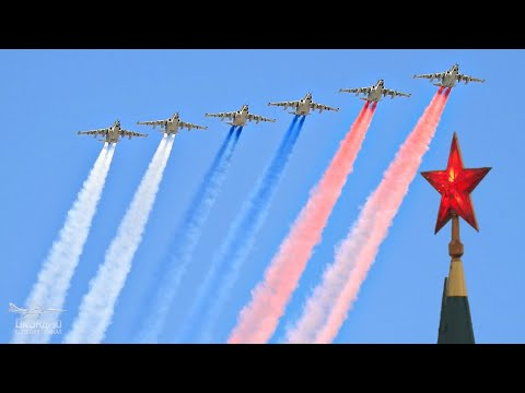 Парад Победы. Авиация. Москва. Самолеты. Красная  площадь. Воздушный парад.