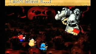 Super Mario RPG - Final Boss (Smithy) and Ending