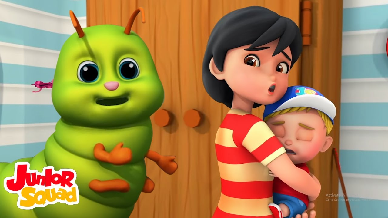 Bug Bug canción | Rimas para niños | Junior Squad Español Latino | Dibujos animados