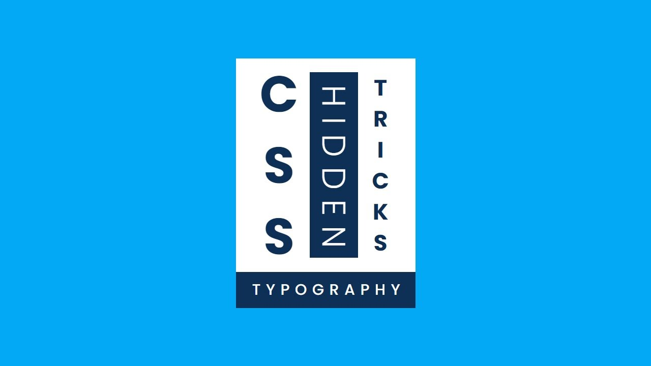 CSS Vertical Text Typography | CSS Writing-mode & Text-orientation Property