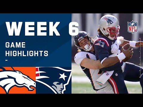 Broncos vs. Patriots Week 6 Highlights   NFL 2020