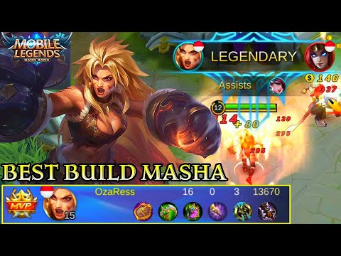 Masha Best Build And Skill Combo - Mobile Legends Bang Bang