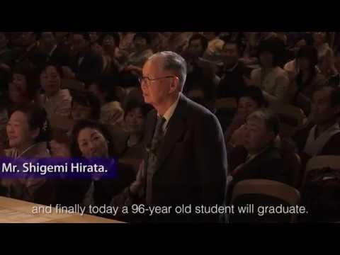 The Graduation Ceremony of Kyoto University of Art and Design (KUAD) on March 19, 2016