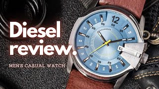 Diesel Master Chief REVIEW Men's Casual Watch || UNBOXING | DZ1399