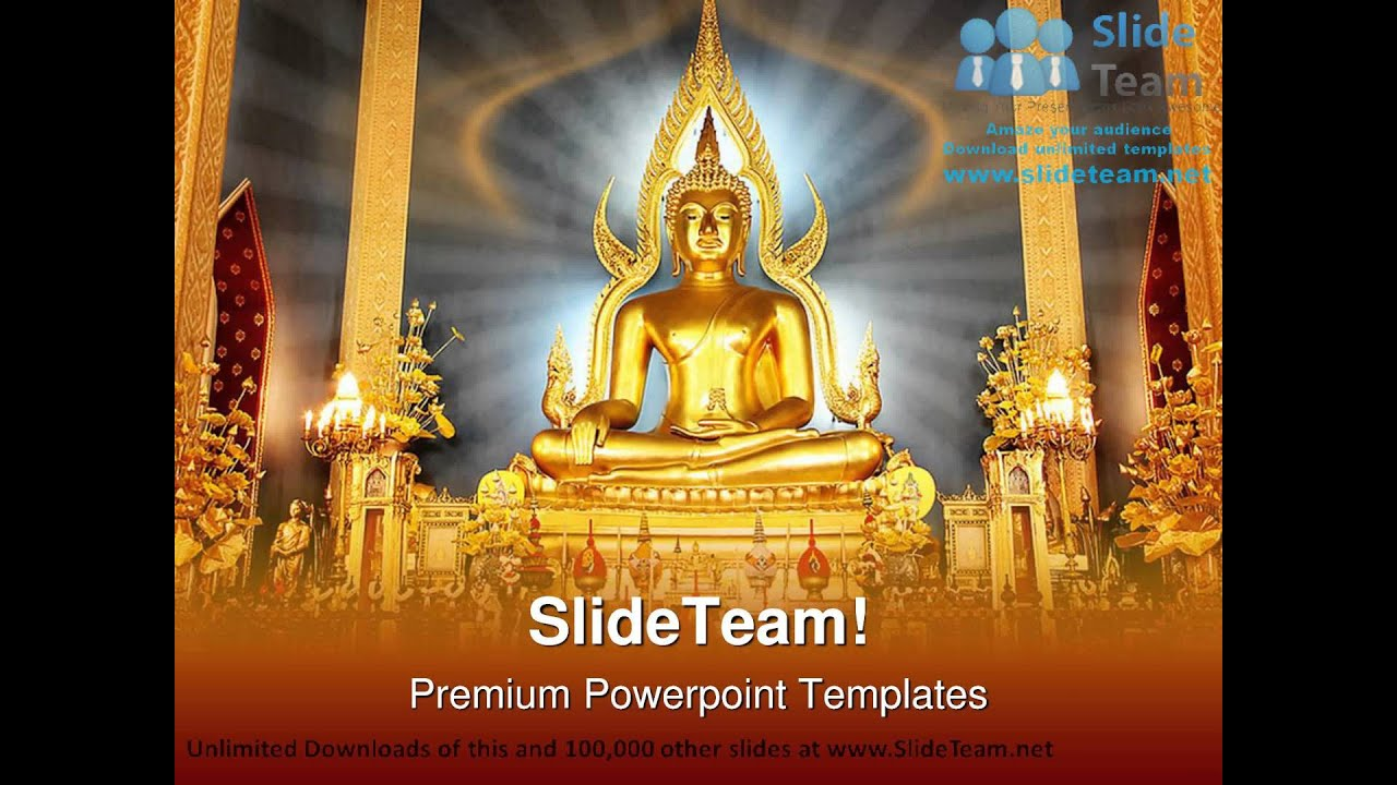 Buddha religion powerpoint templates themes and backgrounds graphic buddha religion powerpoint templates themes and backgrounds graphic designs youtube toneelgroepblik Images