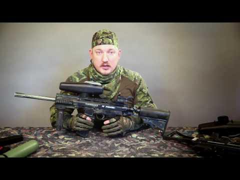 Вопрос: Как собрать снайперскую винтовку Типман для пейнтбола?