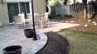 Archadeck's Patio Design With Gas Lamp Post In Arlington Heights, Il
