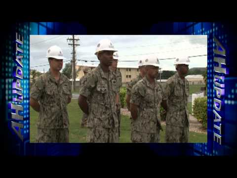 Naval Mobile Construction Battalion 40 Holds Change of Command