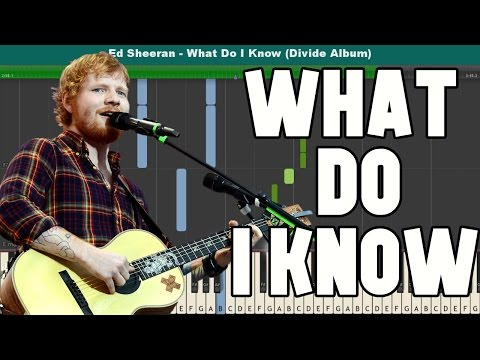 what-do-i-know?-piano-tutorial---free-sheet-music-(ed-sheeran)