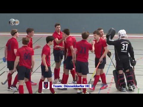 7. Spiel Gruppe B Deutsche Hallenhockey-Meisterschaft männliche Jugend A 2016 Hockeyvideos
