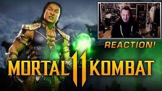 MORTAL KOMBAT 11 - Shang Tsung Gameplay & Kombat Pack DLC Reveal REACTION!