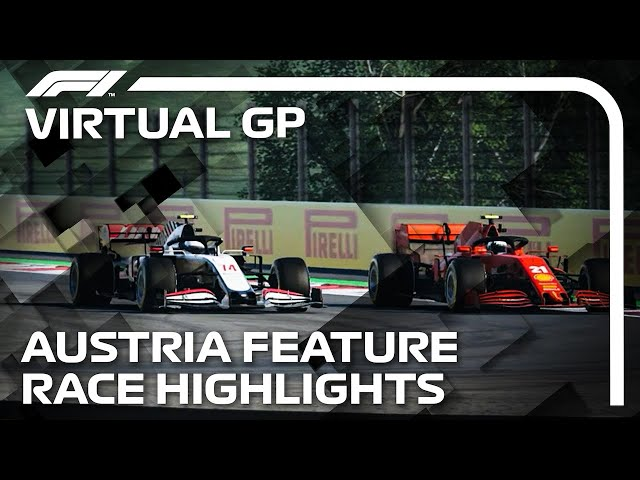 2021 Virtual Austrian Grand Prix: Feature Race Highlights