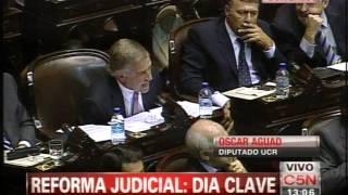 C5N - REFORMA JUDICIAL: HABLA OSCAR AGUAD