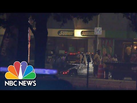 8-Year-Old Fatally Shot Near Rayshard Brooks Memorial  NBC Nightly News