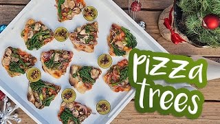 Pizza Trees :: Day 10 of 12 Days of Vegan Christmas Recipes