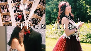 GRWM: My Prom vlog + surprise date | Fruitypoppin