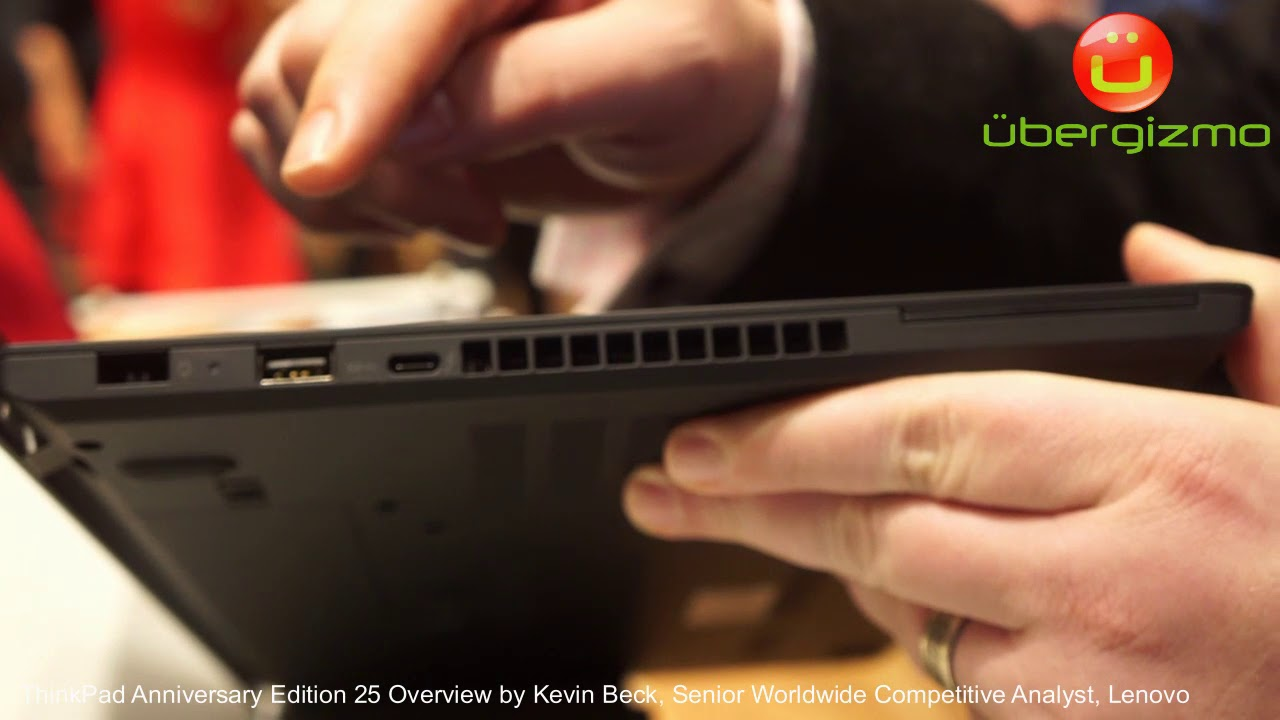 Lenovo ThinkPad Anniversary Edition 25 Overview - Celebration Event at  Yamato Labs