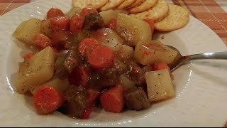 Easy Beef Stew - The Hillbilly Kitchen