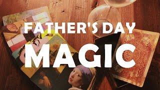 【父親節魔術 FATHER'S DAY MAGIC! 】ART+COFFEE+MAGIC
