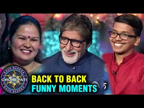 Amitabh Bachchan BACK TO BACK FUNNY SCENES | KBC | Kaun Banega Crorepati Mp3