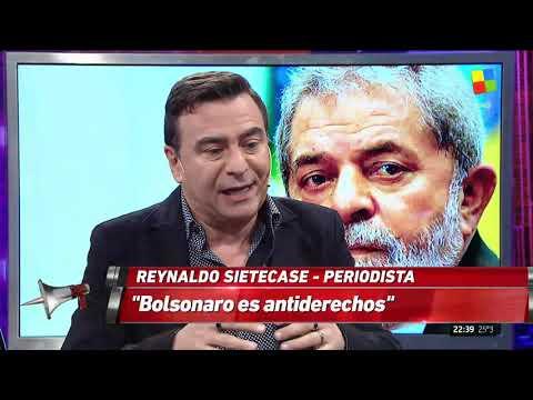 Sietecase: Bolsonaro es antiderechos y los medios demonizaron a Lula