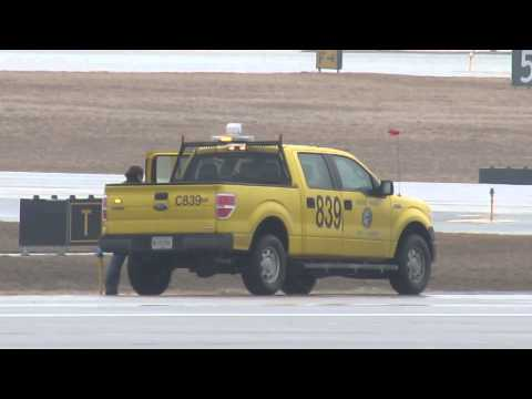 FOD ON THE RUNWAY!!! ORD Airport Operations to the Rescue! [03.27.2014]