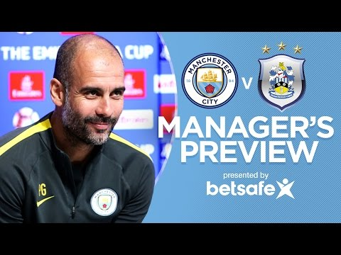 EVERY GAME IS A FINAL! | Man City v Huddersfield | Guardiola Press Conference