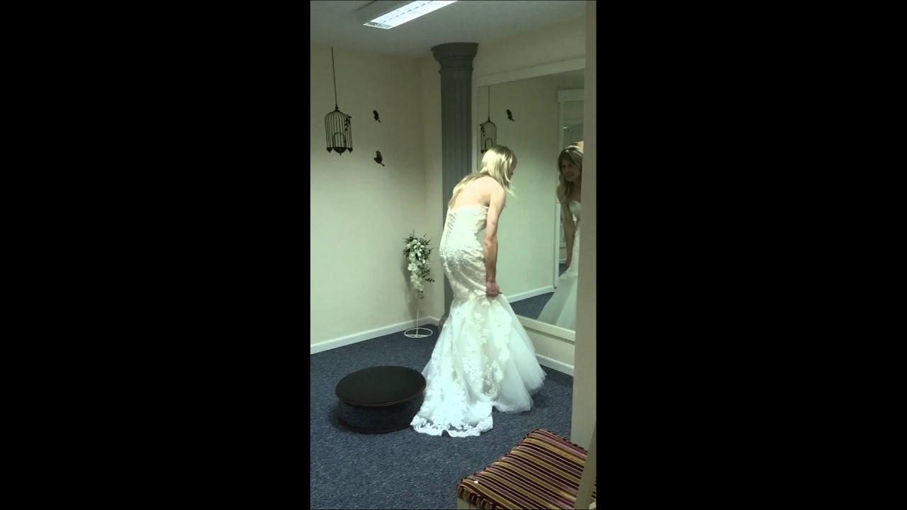 Me In A Wedding Dress And High Heels