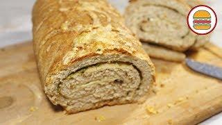 Чесночный хлеб с травами. Ароматный домашний хлеб с чесноком и травами.