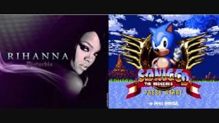 Disturbia Panic Zone( Rihanna VS. Sonic CD)( Masdamind Mashup)