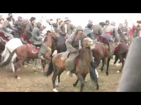 """""""Buzkashi"""" Afghanistan's National Sports (2015 March)"""