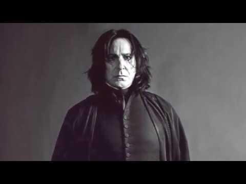 Who Is Severus Snape Alan Rickman Rip Jkrowling Daniel