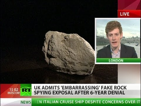 The Spy Who Stoned Me: UK admits British rock invasion
