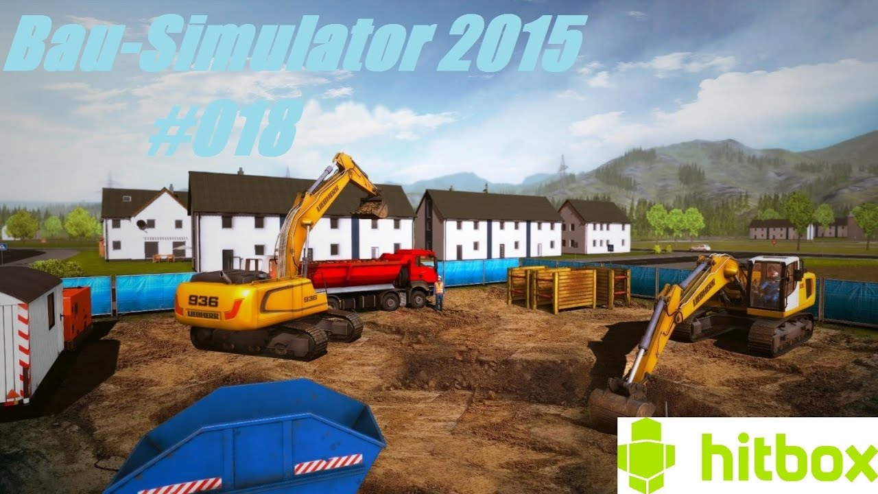 bau simulator 2015 fuhrparkerweiterung hitbox. Black Bedroom Furniture Sets. Home Design Ideas