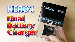 HERO4 Dual Battery Charger - Unboxing & overview  ((PT))