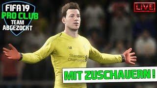 FIFA 19 TORWART ONLINE - EIN SPANNENDER KAMPF | Pro Club - LIVE