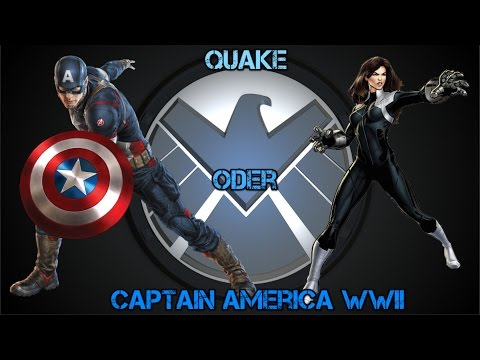 Marvel Contest of Champions- Quake vs Captain America WWII Wer ist besser?
