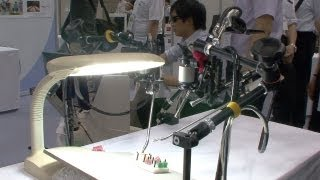 IBIS pneumatic keyhole surgery robot potentially 1/10 the cost of da Vinci #DigInfo