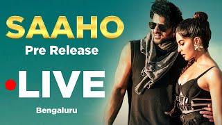 Live : SAAHO Pre release event | Bengaluru | Prabhas | Shraddha Kapoor | TV5