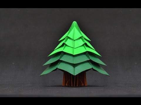 origami christmas tree jo nakashima youtube