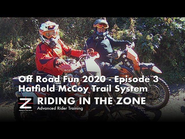 Dirt Riding Fun - Episode 3 - Pinnacle Creek, Hatfield McCoy, WV