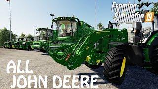 Download Every John Deere In Farming Simulator 2019 Tour Test MP3