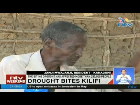 Drought bites Kilifi county as residents turn to charcoal