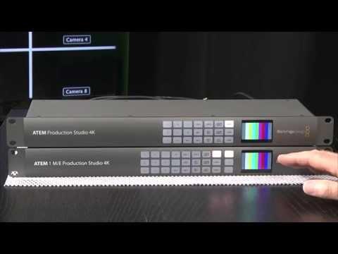 StudioTech 109 - Blackmagic ATEM 4K switchers: Part 1 of 3 Introduction