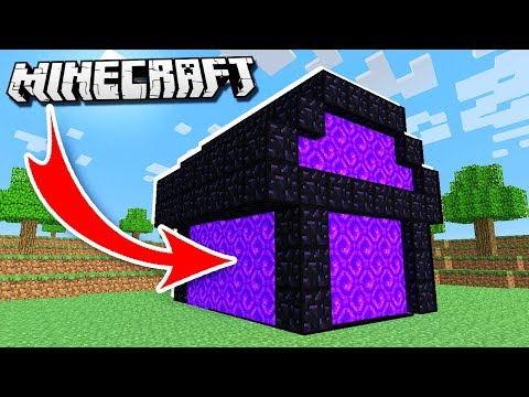 House MADE OF PORTALS in Minecraft!
