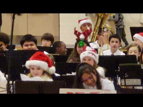 Christmas band concert - Dec 13, 2018 - Nisqually Middle School
