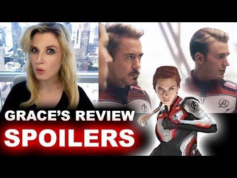 Avengers Endgame SPOILER Review